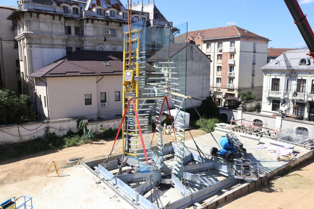 Se lucrează la prisma dedicată lui Constantin Brâncuşi