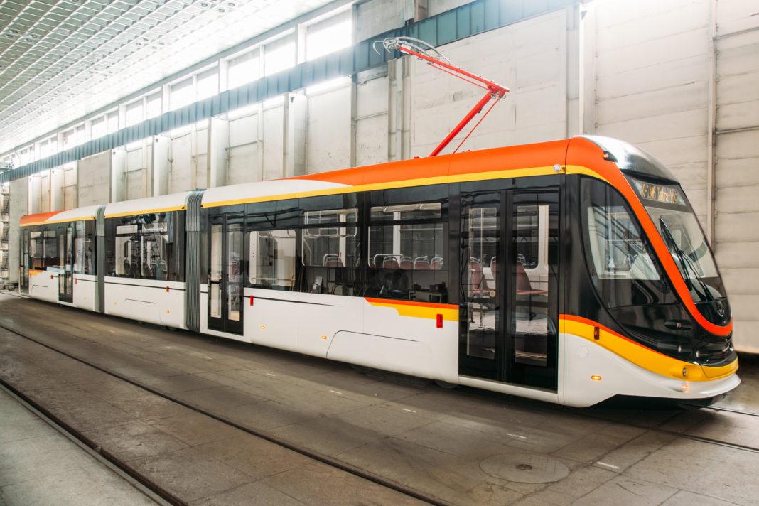 Aşa arată unele modele de tramvaie produse de firma ucraineană Tatra-Yug
