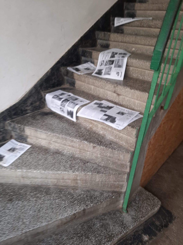 Au fost distribuite în mai multe scări de bloc materiale denigratoare la adresa unui bărbat din municipiul Motru