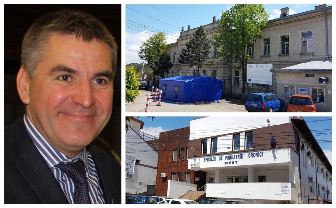 Adrian Popoiu, primarul orașului Siret, totul a plecat de la focarul apărut la Spitalul de Psihiatrie Sireta anunțat că sunt