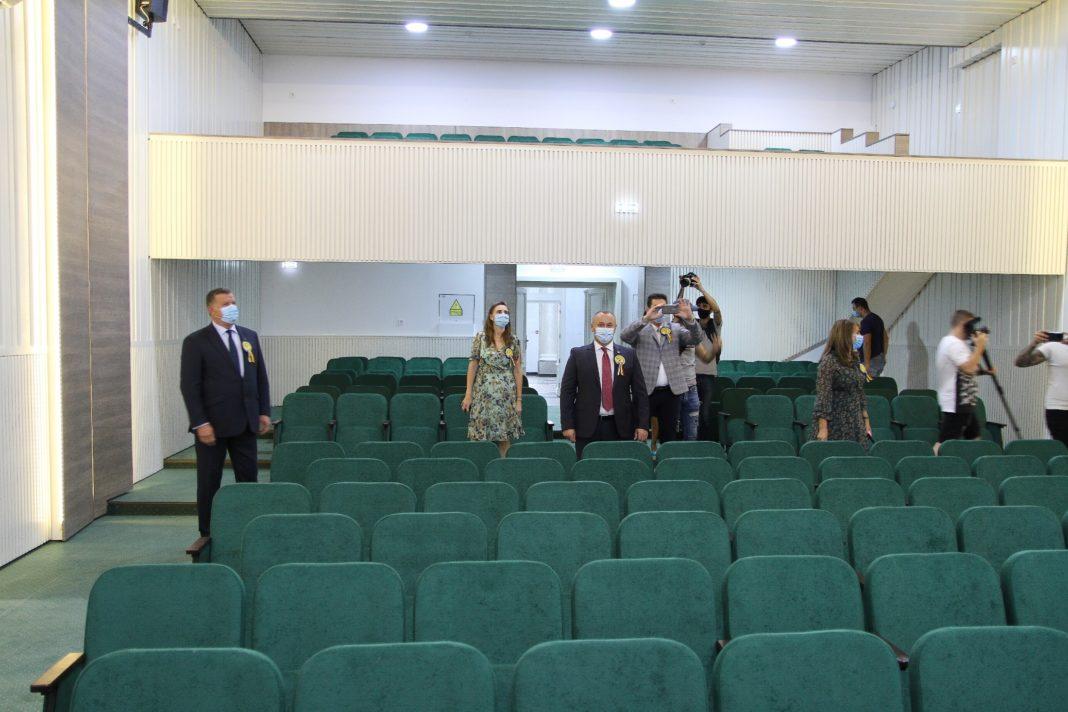 """Sala de Festivităţi a Colegiului Naţional """"Mircea cel Bătrân"""", inaugurată"""