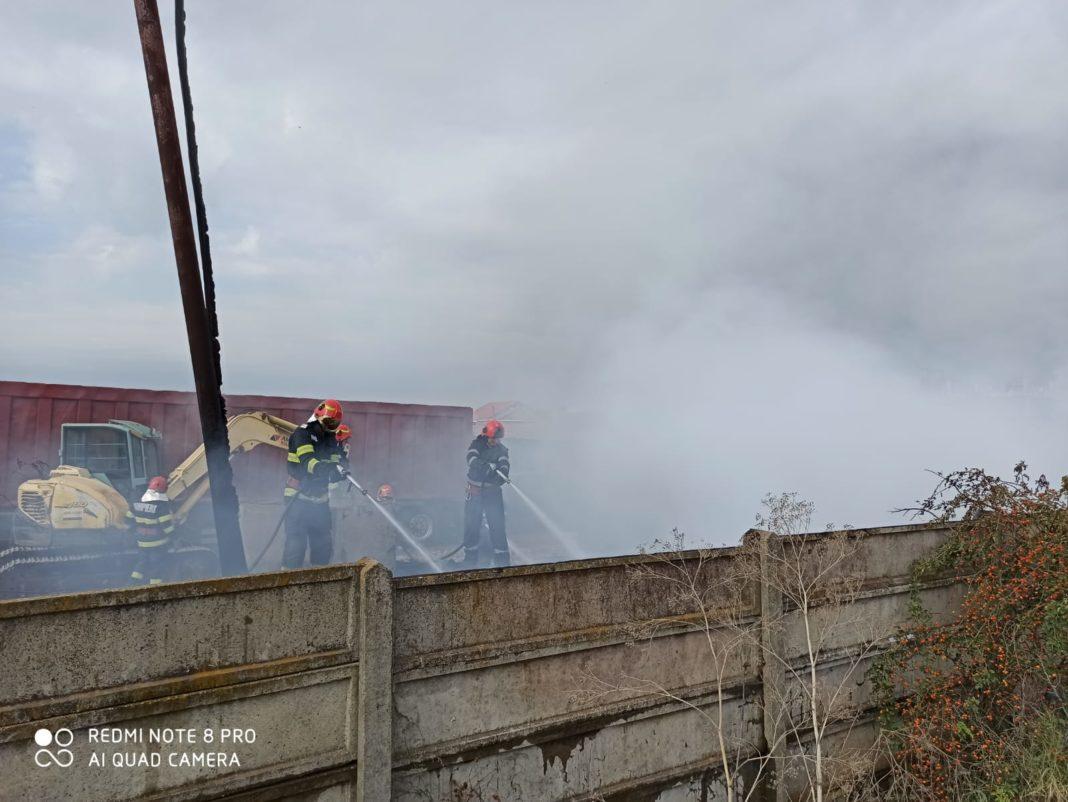 Nereguli grave descoperite la depozitul care a ars ieri în zona Elpreco