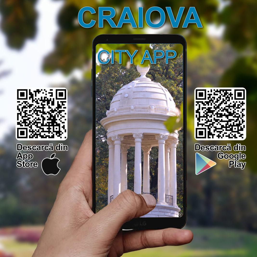 Craiova CityApp - Aplicația care te invită să descoperi orașul