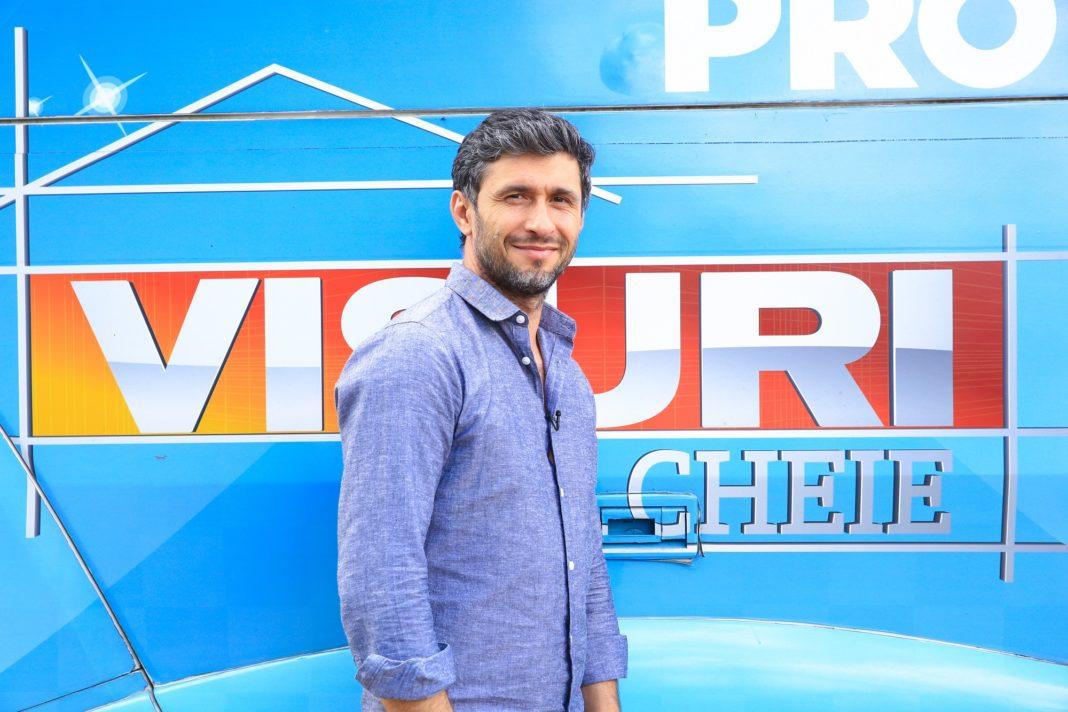 """Actorul Dragoș Bucur, actualul prezentator al emisiunii """"Visuri la cheie"""", a fost depistat cu COVID-19"""