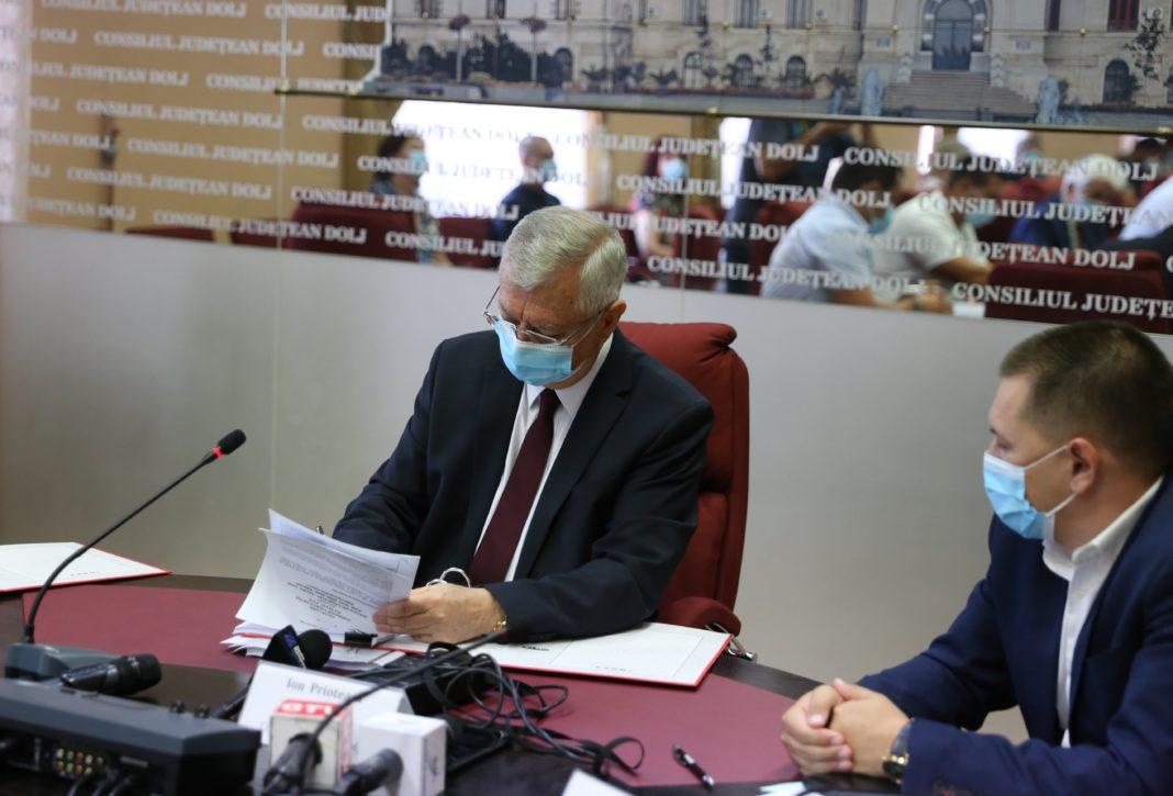 CJ Dolj a dat ordinul de începere a lucrărilor și la tronsonul II al DJ 561A, Moțăței – Unirea – Plenița – limita cu județul Mehedinți