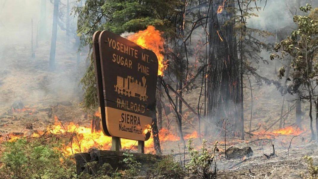 Parcului Național Yosemite, închis din cauza incendiilor