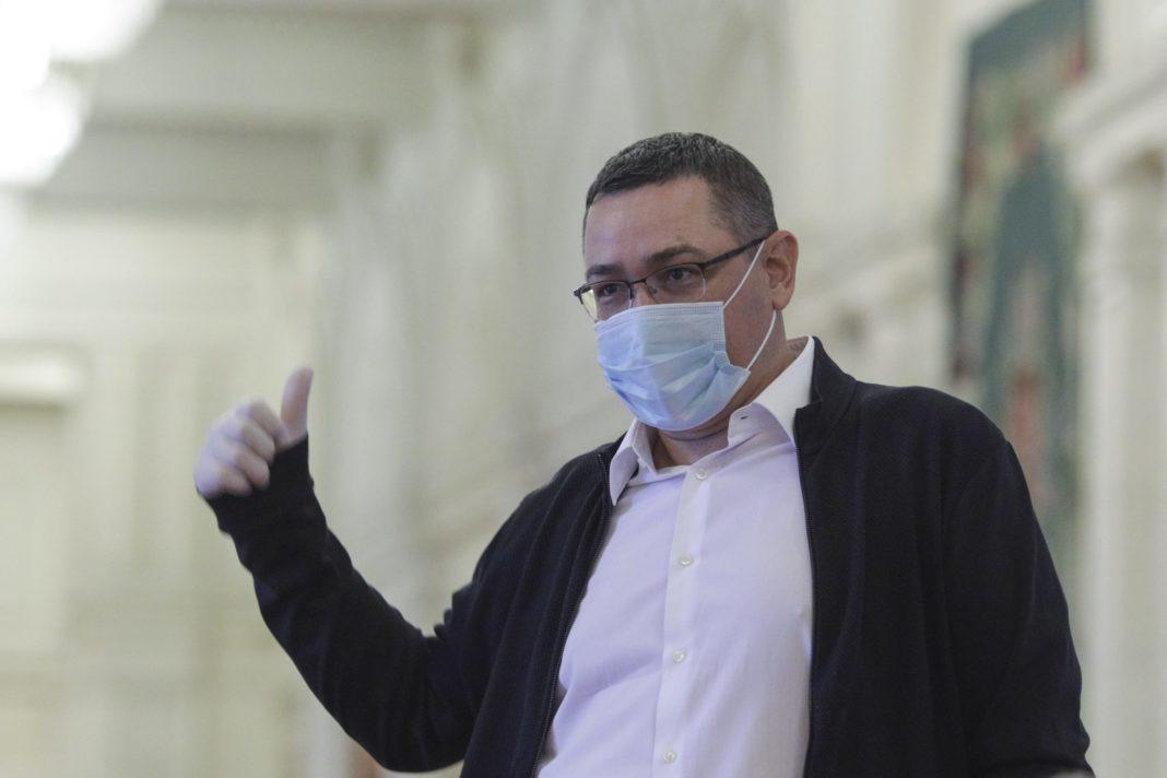 Ponta întrerupe campania electorală pentru a se testa de Covid 19