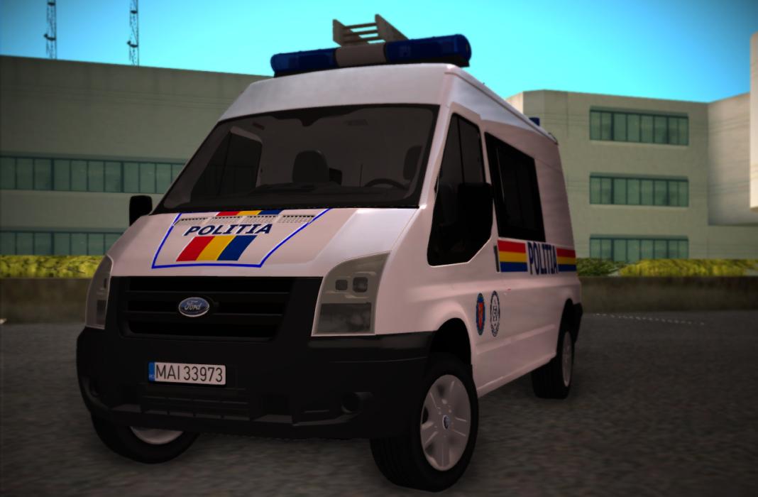 Flotă de 50 de unități Ford Transit special echipate pentru Poliția de FrontierăF
