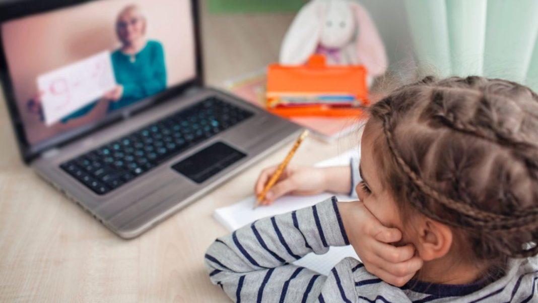 Sute de școli din România fac ore online