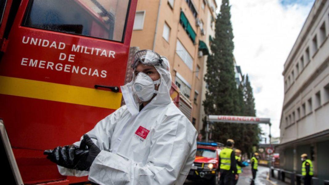 În Spania, peste 12.000 de cazuri de coronavirus în 24 de ore