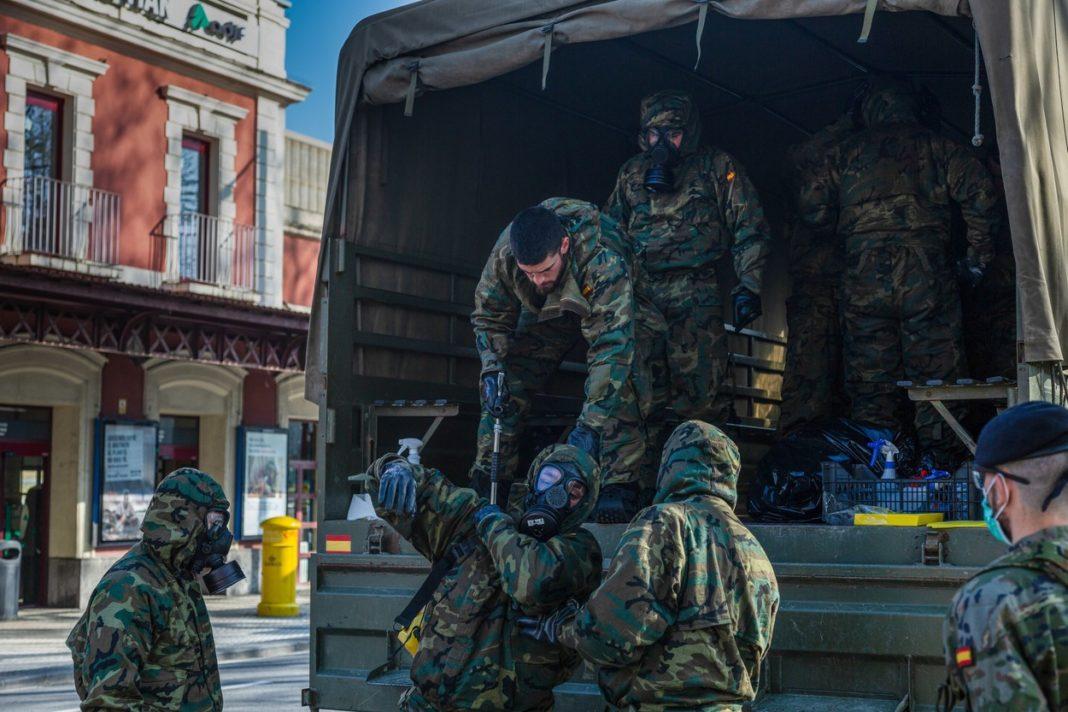 Coronavirus: Madridul a cerut ajutorul Armatei Spaniei în lupta cu Covid-19