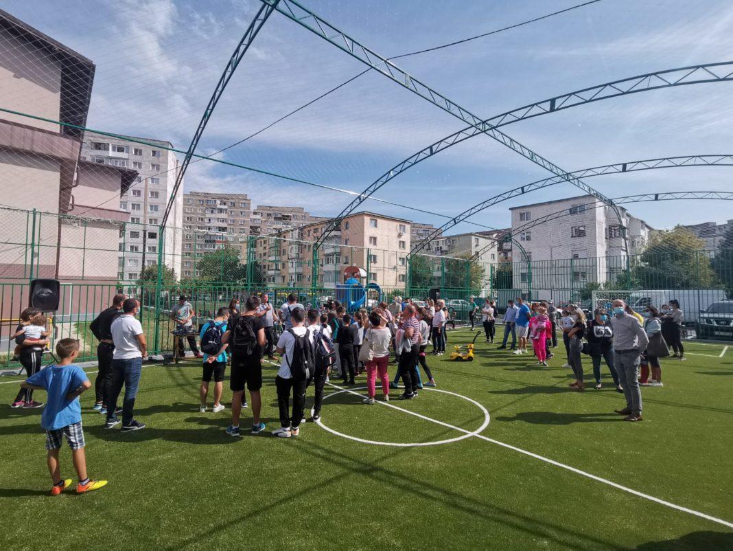 Accesul este gratuit pe cea mai nouă facilitate sportivă a oraşului