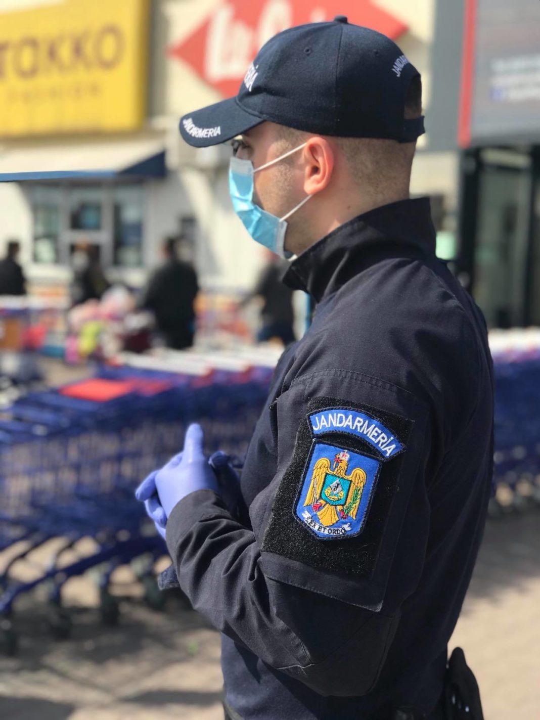 Jandarmii coninuă misiunile anti-COVID