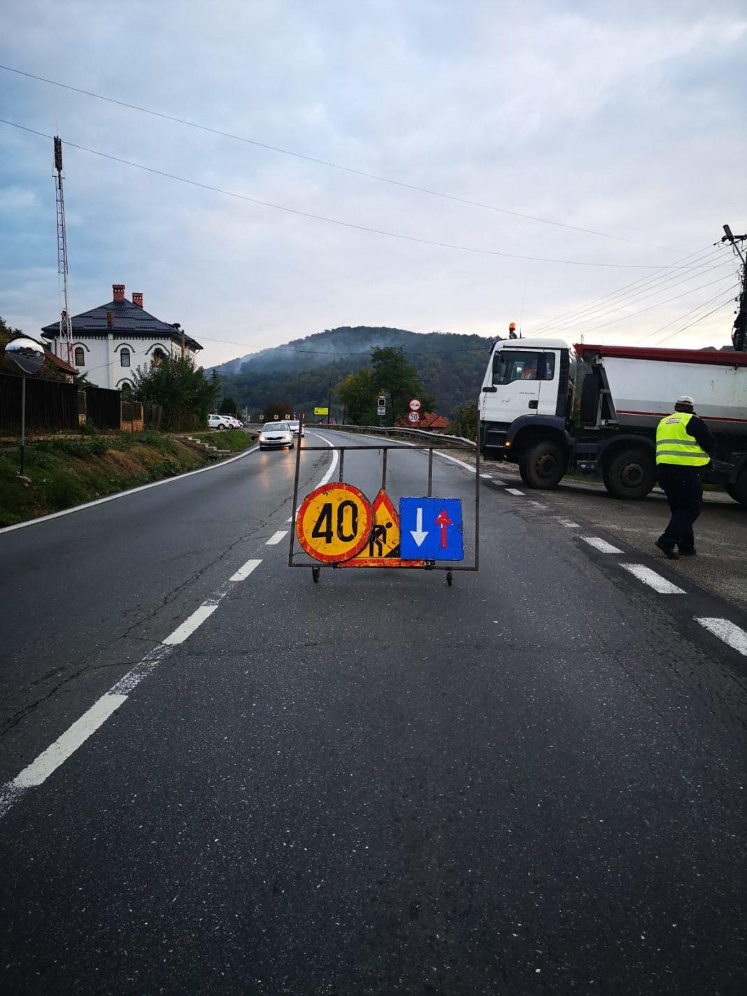Restricții de circulație, pentru efectuarea de lucrări