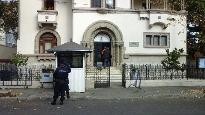 Procurorii anti-corupție din Republica Moldova fac percheziții la Consulatul din București (Foto: sputnik.md)