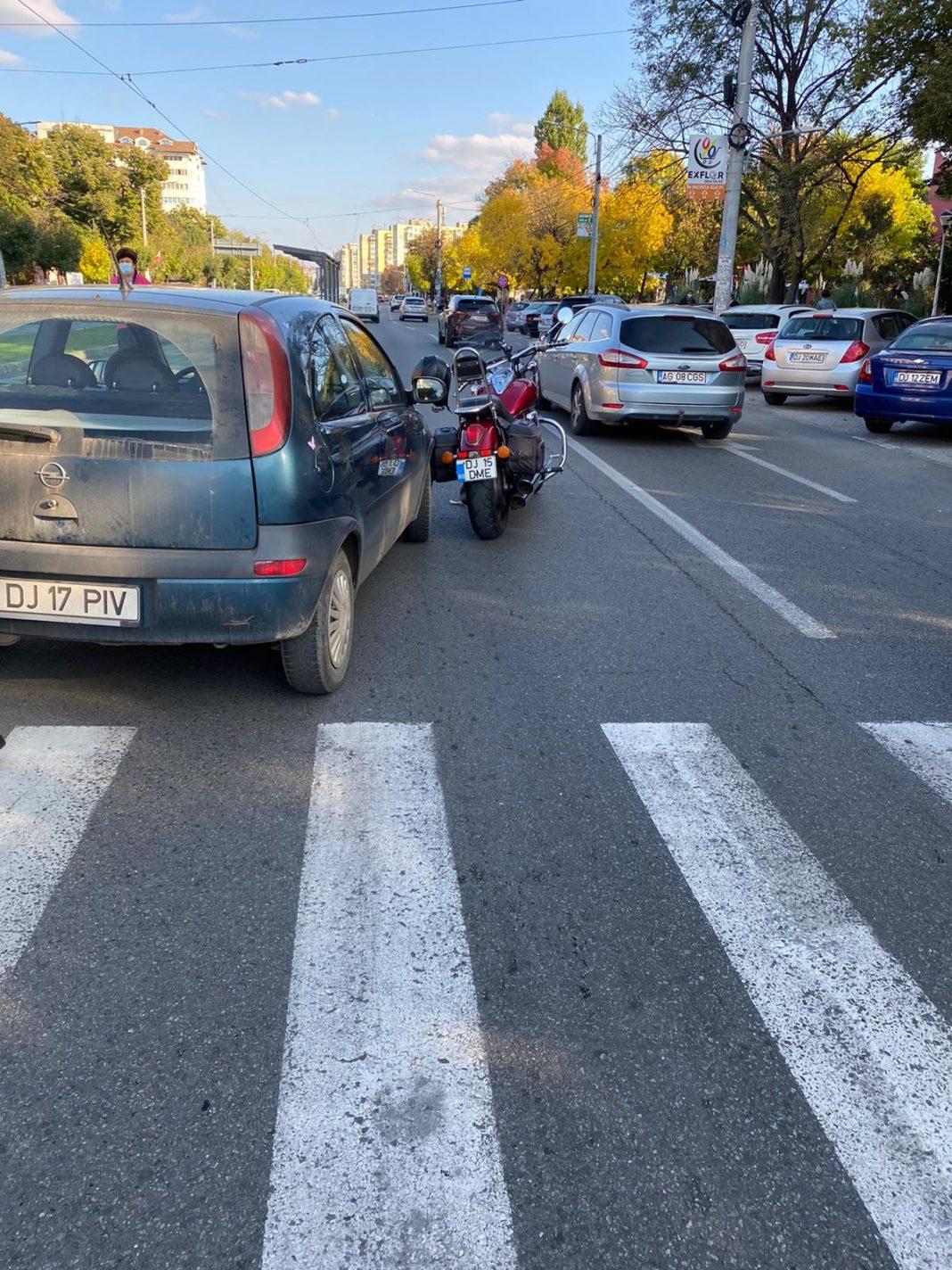 Accidentul a fost în zona intersecției dintre Petre Ispirescu și Calea București