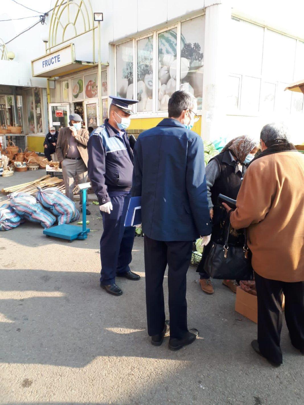 La acțiuni au participat peste 450 de forţe de ordine