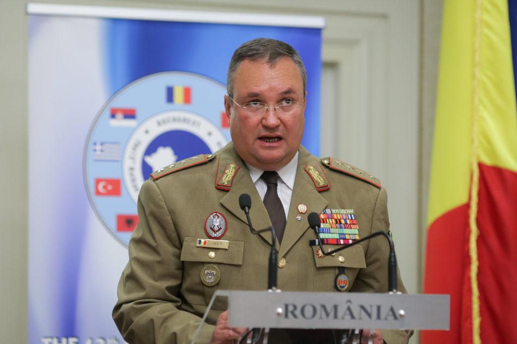ministrul Apărării Naţionale, Nicolae-Ionel Ciucă,