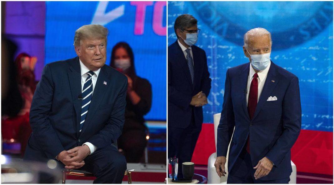 Dezbaterea finală dintre Donald Trump și Joe Biden
