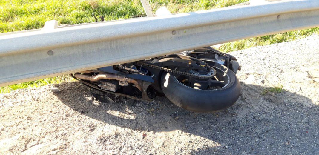 Motociclist rănit într-un accident la Beharca
