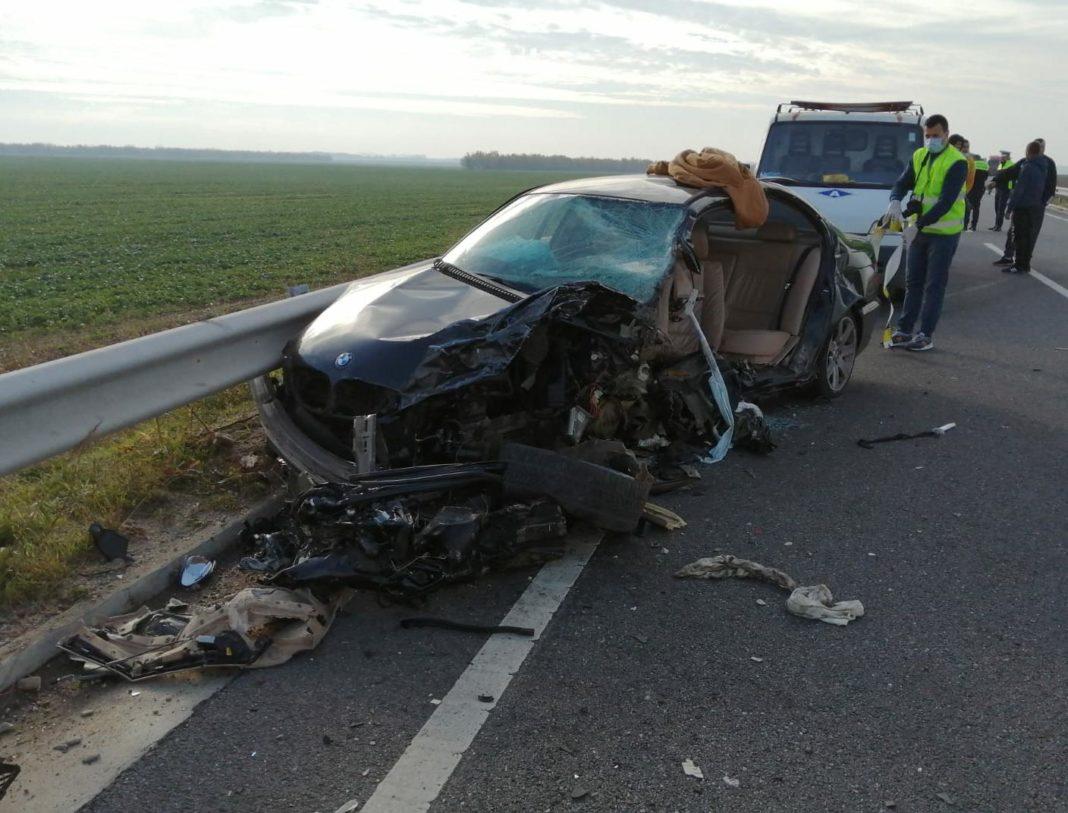 Un accident rutier a avut loc pe centura municipiului Caracal între două autoturisme și o autoutilitară