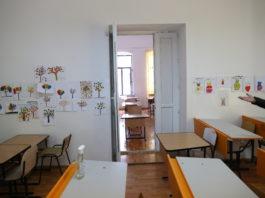 """Clasa vagon de la Şcoala gimnazială """"Traian"""" din Craiova"""