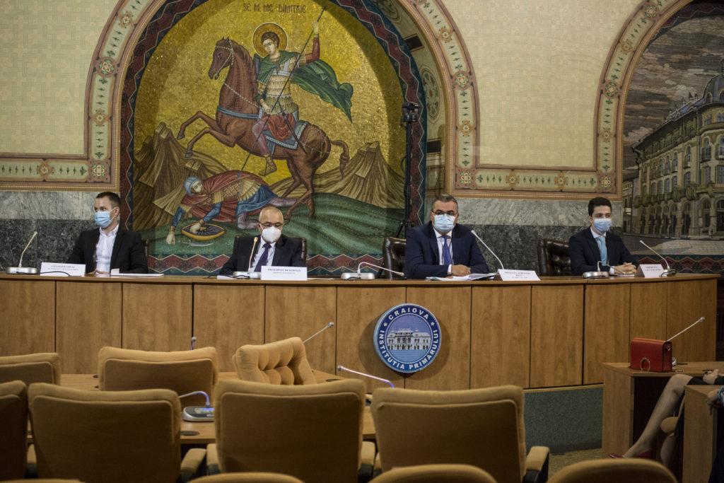 S-a constituit noul Consiliu Local al municipiului Craiova