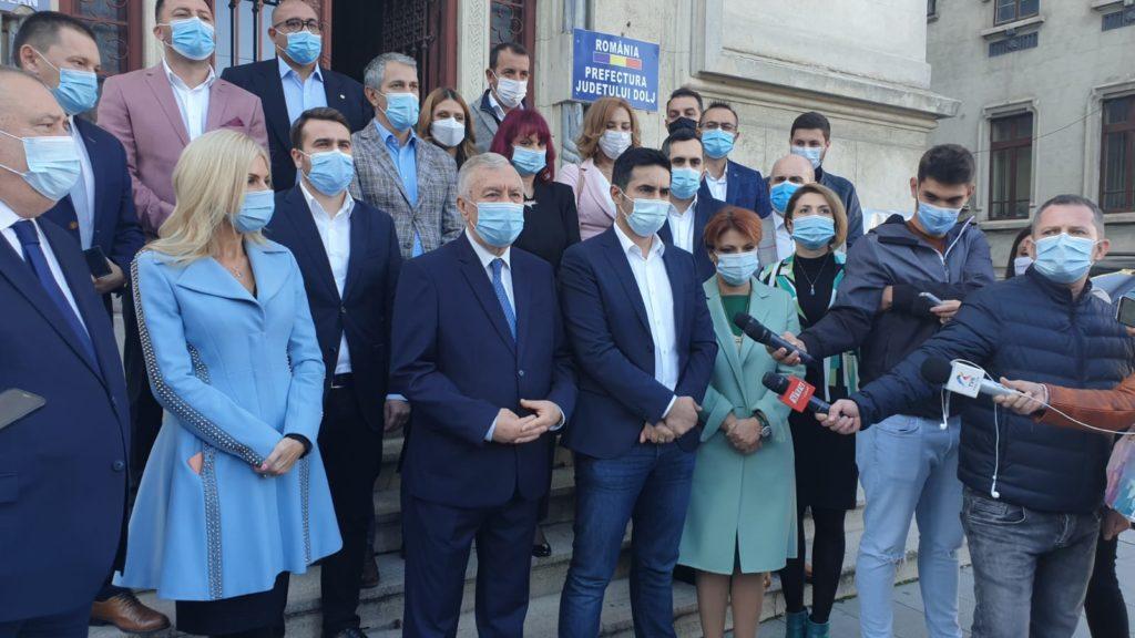 PSD Dolj a depus listele cu candidații pentru alegerile de la Senat și Camera Deputaților