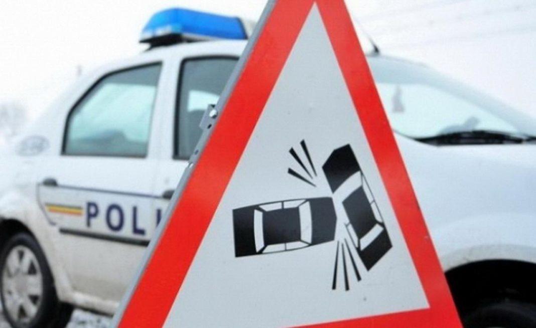 Târgu Jiu: Accident rutier provocat de un tânăr băut și fără permis auto