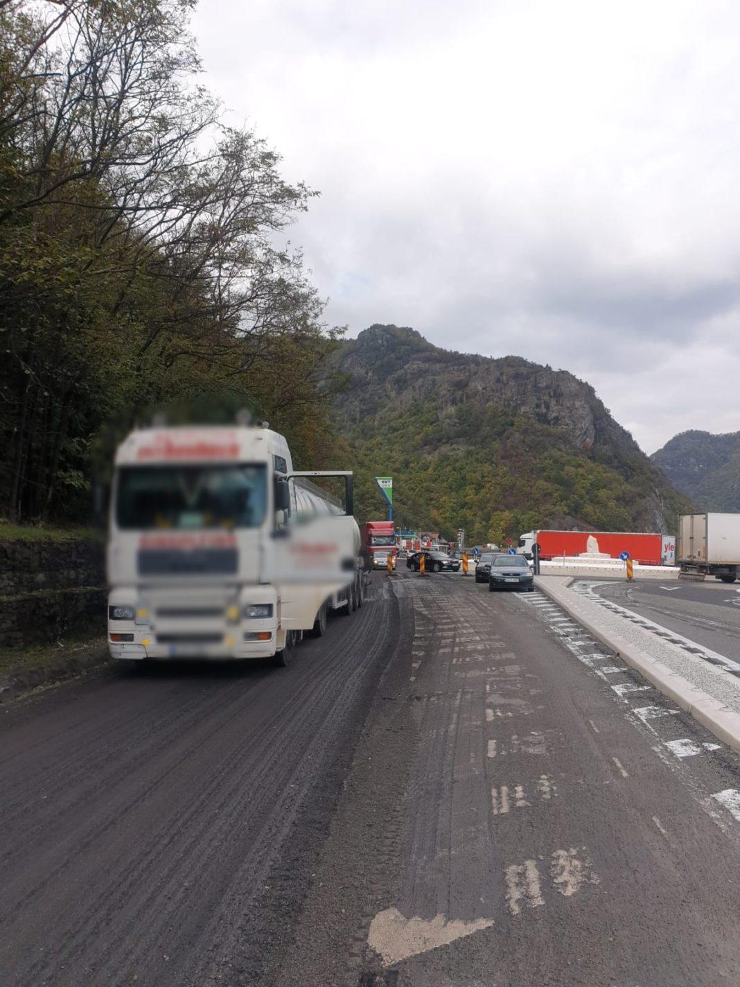 Se vor institui restricții de circulație pe DN 7, pe Valea Oltului, între localitățile Călimănești-Câineni, în perioada 29 martie - 30 iunie