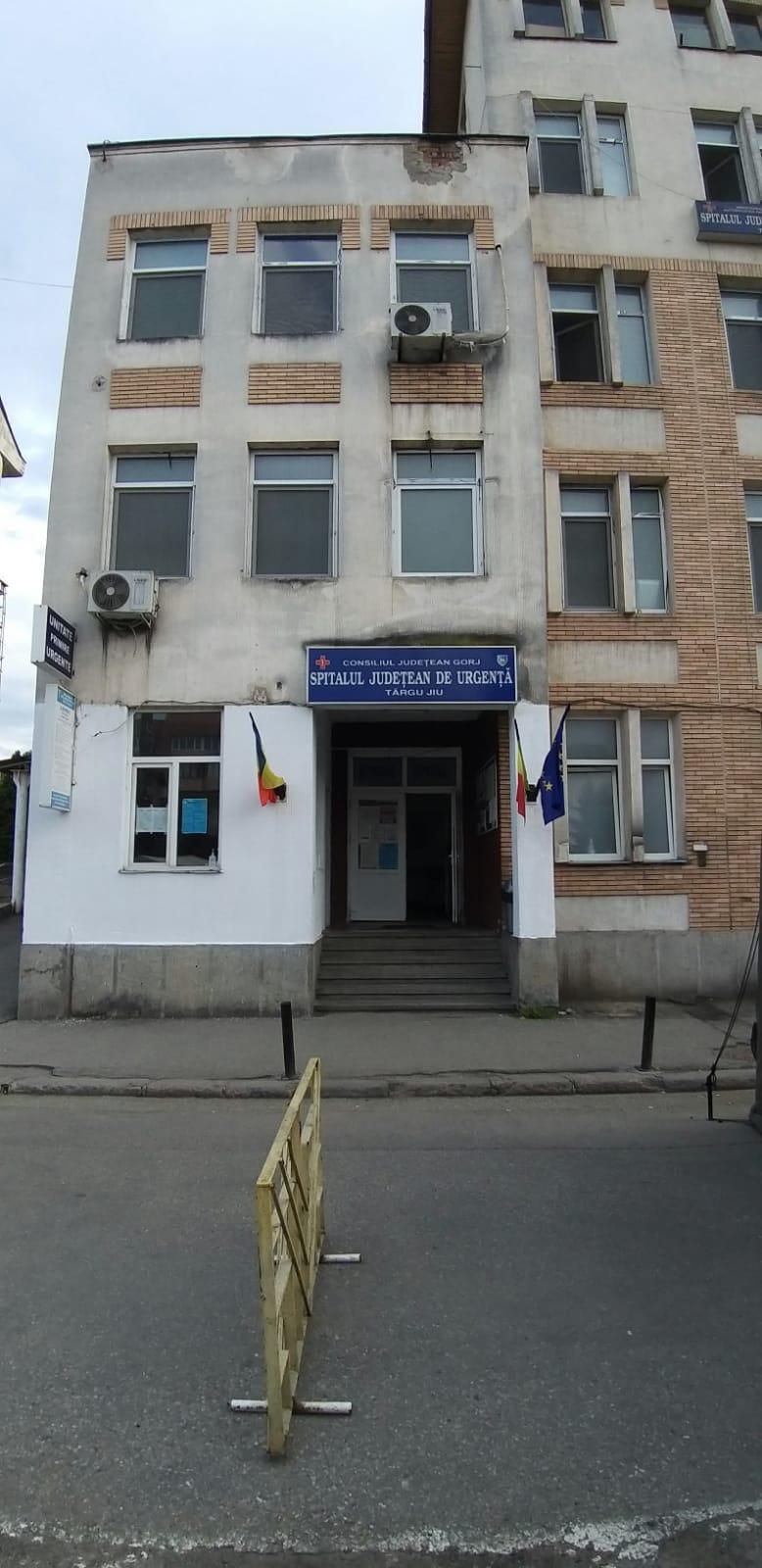 Spitalul Județean din Târgu Jiu se confruntă din nou cu un număr mare de cazuri de Covid-19