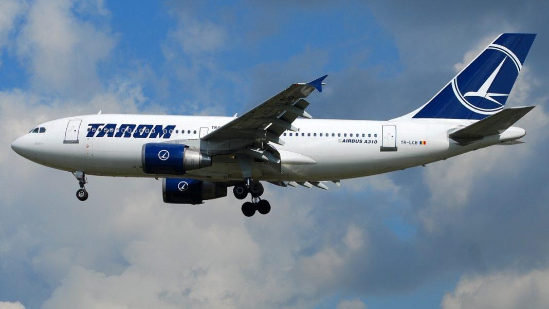 Zboruri interne și externe, anulate de TAROM în noiembrie și decembrie