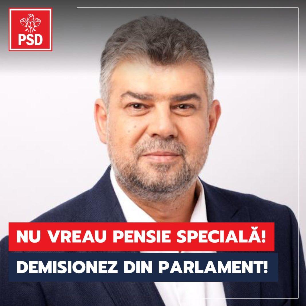 Ciolacu a fost primul care și-a anunțat demisia