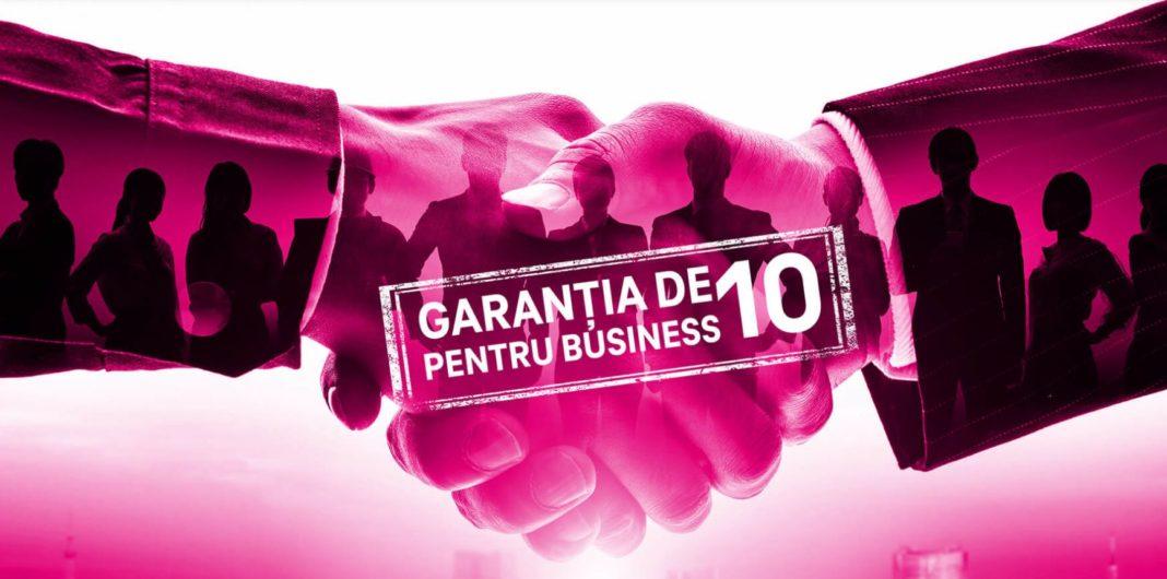 Telekom România susține antreprenorii români prin Garanția de 10 pentru business