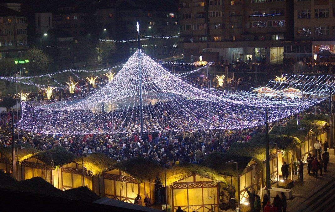 Primăria Râmnicu Vâlcea dă startul sărbătorilor de iarnă, sâmbătă