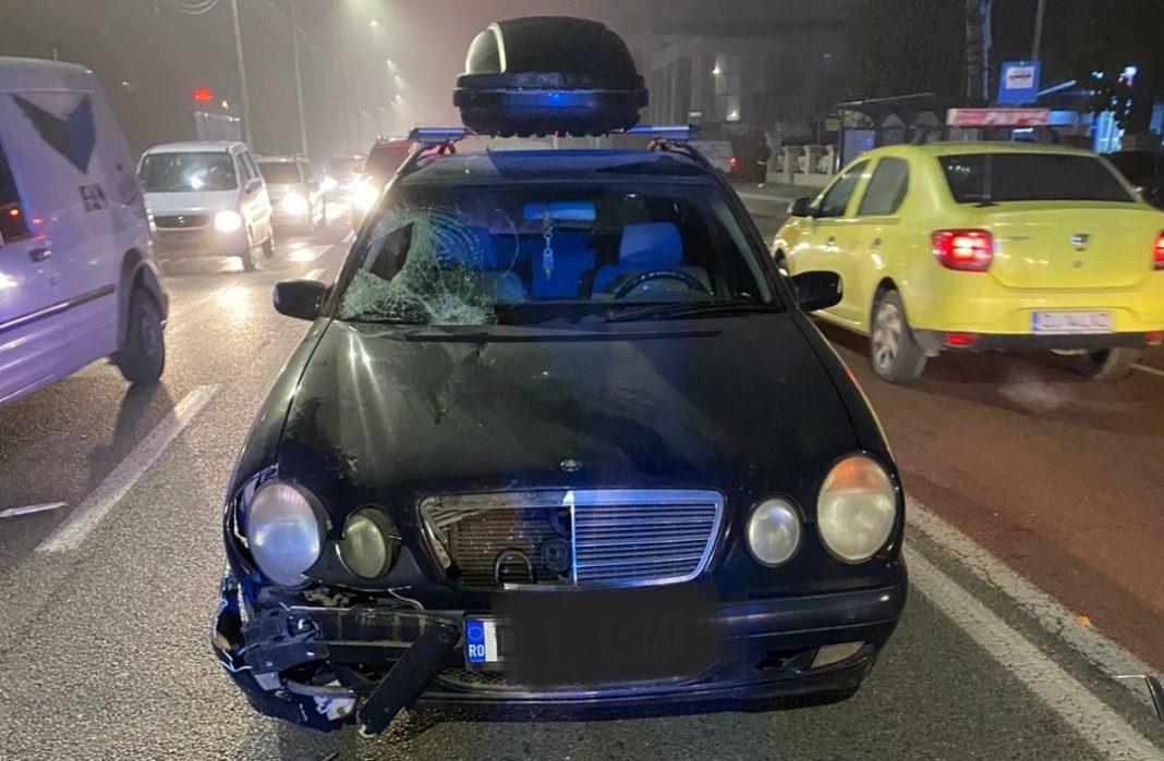 Femeie lovită pe trecerea de pietoni de un șofer băut, în Craiova