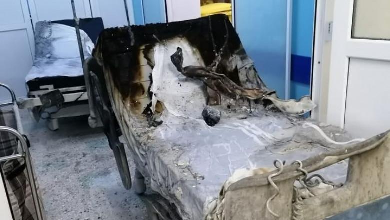 Încă un deces în urma incendiului de la Spitalul din Piatra Neamţ