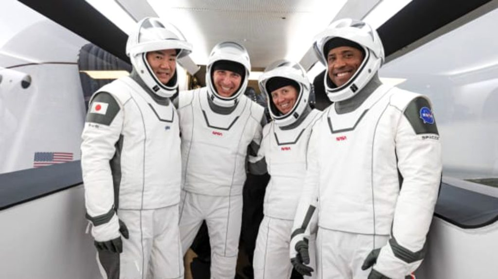 Astronauti Victor Glover, Shannon Walker, Mike Hopkins si Soichi Noguchi / Credit foto: NASA