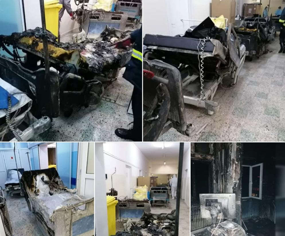 Alți doi pacienți transferați după incendiul de la Piatra Neamț a murit ( Sursă foto : Capital)