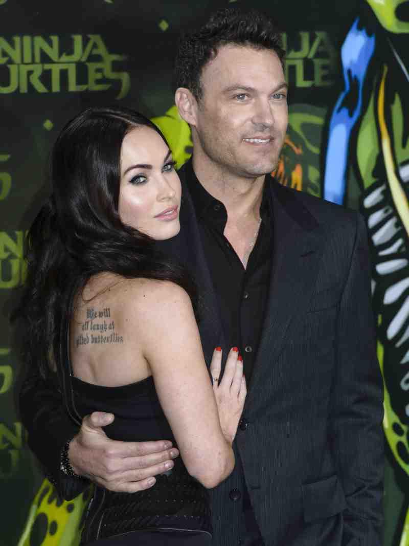 Megan Fox a depus actele prin care solicită divorţul de Brian Austin Green