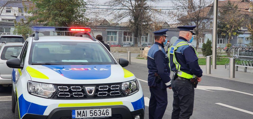Peste 230 de polițiști și jandarmi, au desfășurat 10 de acţiuni de verificare cu respectarea măsurilor anti-COVID