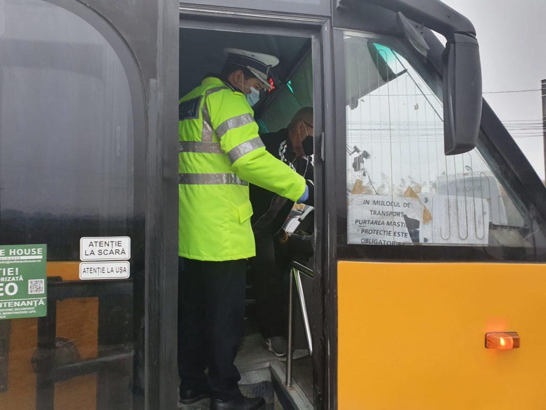 Controale în trafic, efectuate de poliţiştii doljeni