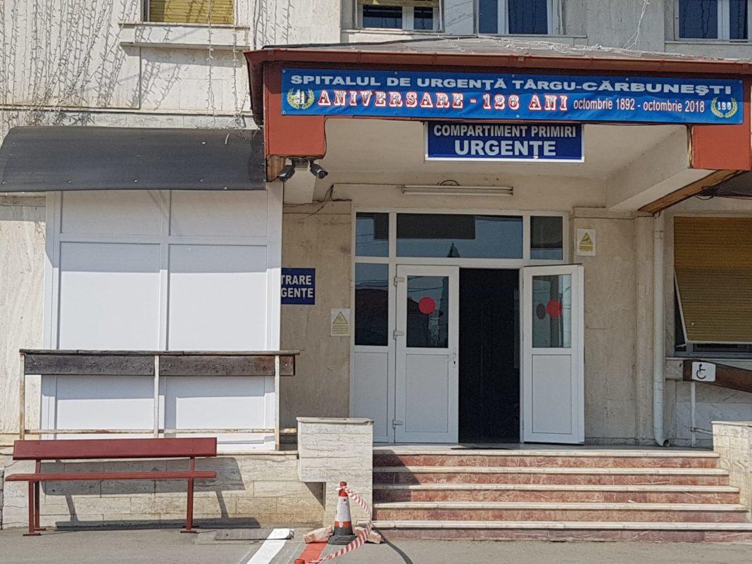 Cel mai în vârstă pacient internat la Spitalul Cărbunești și vindecat de Covid are 87 de ani