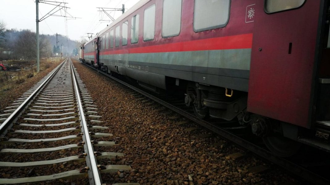 Defecțiune la un tren de marfă