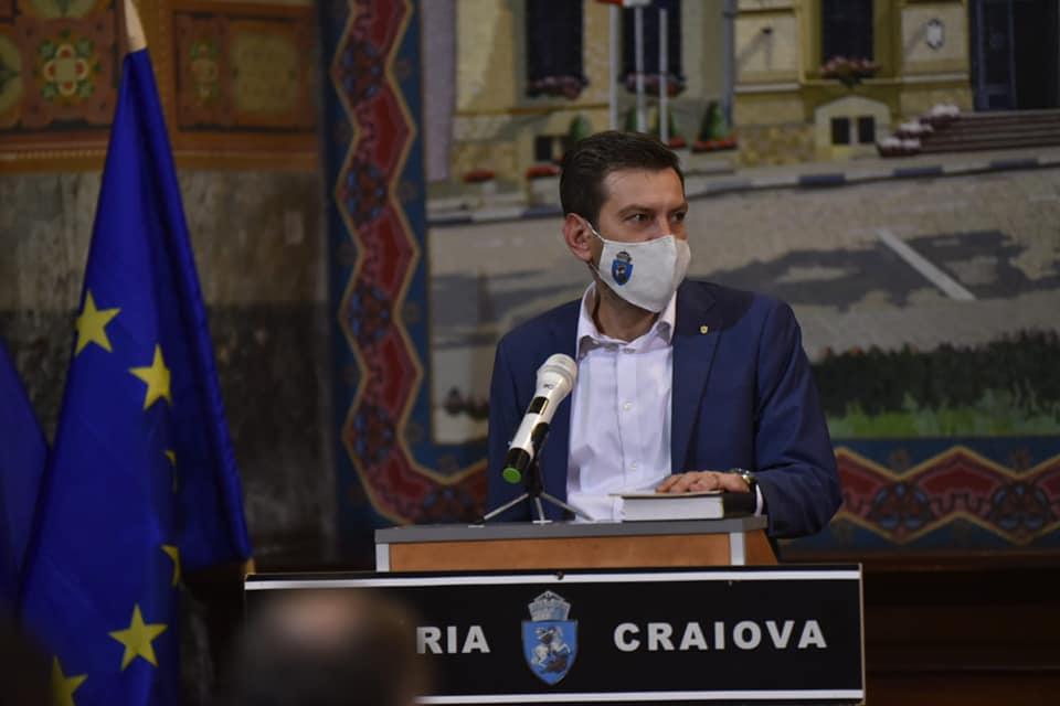 Cristian Vasilcoiu a demisionat din Consiliul Local Craiova în aceeași zi în care a depus jurământul de consilier local