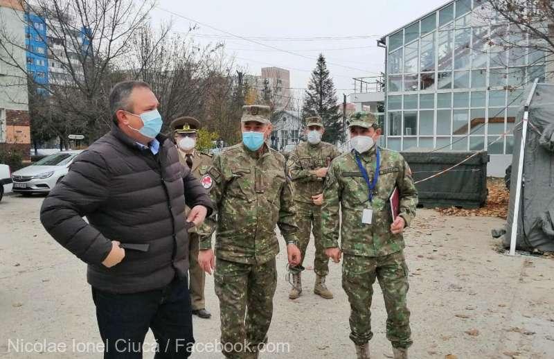Spitalul Militar din Craiova va fi centru regional de vaccinare anti-Covid-19