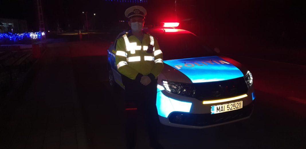 Un șofer a fost reținut pentru conducerea sub influența alcoolului și producerea unui accident rutier cu victime în județul Gorj