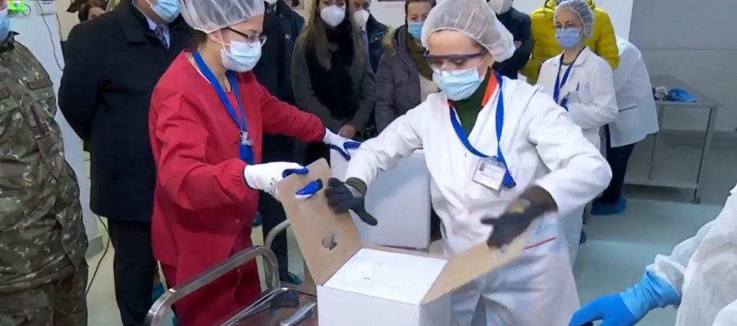 Au sosit primele 10.000 de doze de vaccin anti-COVID