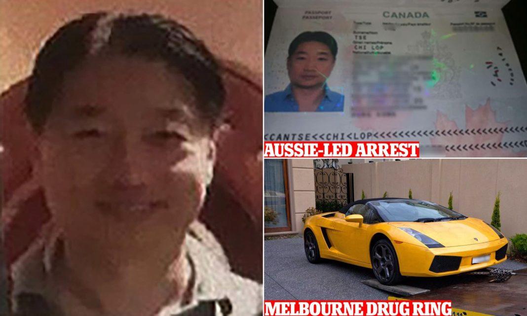 Șeful unui carte de droguri din Asia, Tse Chi Lop era urmărit de autoritățile din Australia de doi ani