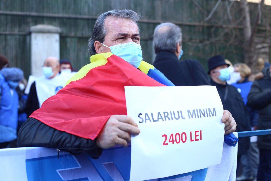 Sindicaliștii de la CNS Cartel Alfa pichetează miercuri sediul Ministerului Finanțelor